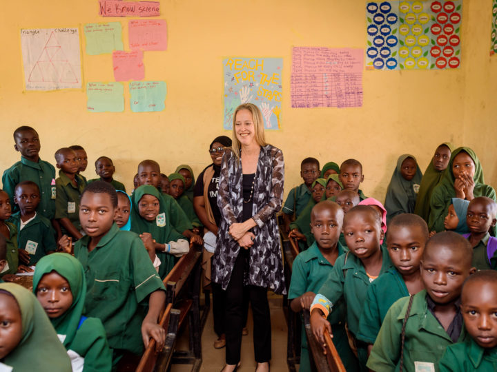 Wendy Kopp, CEO, Teach For All Shares Her Inspirations From Her Visit to Nigeria